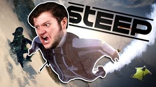DO A BARREL ROLL! | Steep (Funny Moments)