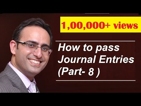 How to make Journal Entries (Video-8) [Journal Entries related to EXPENSES]