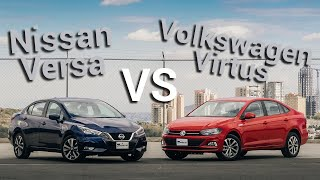 Nissan Versa VS Volkswagen Virtus - ¿Cuál es mejor? | Autocosmos Video