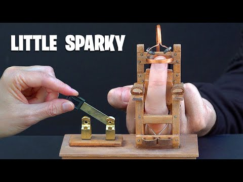 Homemade ELECTRIC CHAIR Fun - Pocket size