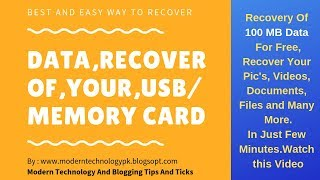 Recover Corrupted files from sd card