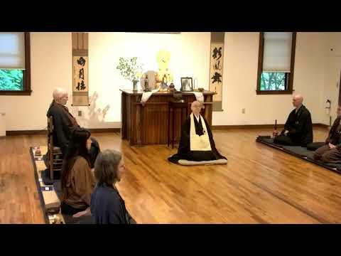 Hoen-Ji Spring Sesshin Opening Remarks by Shinge Roshi, 6.3.2021