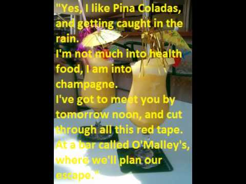 pina collada song Explore and share the best pina colada gifs and most popular animated gifs  here on giphy find funny gifs, cute gifs, reaction gifs and more.