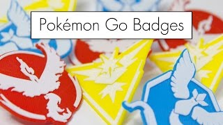 3D Printed Pokémon Go Badges