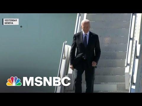 President Biden Set For Wednesday Meeting With Vladimir Putin | MSNBC