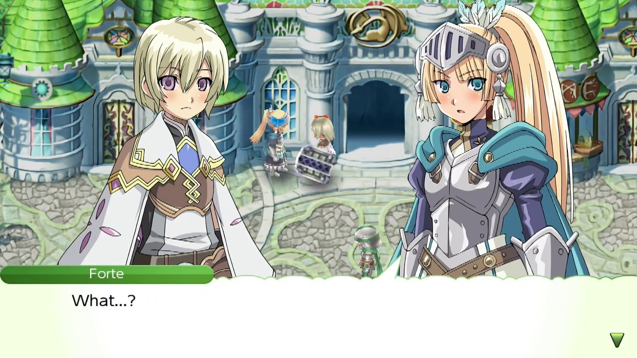 Rune Factory 4 Special Dating - Forte Confession - YouTube