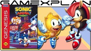 Sonic Mania Plus Announced + PLAYABLE Mighty & Ray (DLC Expansion)