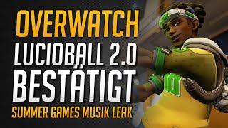Lucioball Rückkehr BESTÄTIGT!   Summer Games 2017 Musik LEAK ★ Overwatch Deutsch