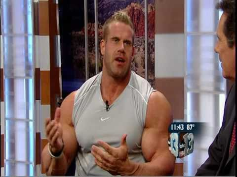 JAY CUTLER - 37 - MR. OLYMPIA - INTERVIEW - LOCAL TV - 9-21-10 - VOB