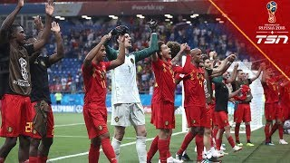 Belgium COMPLETES THE COMEBACK, defeat Japan to advance