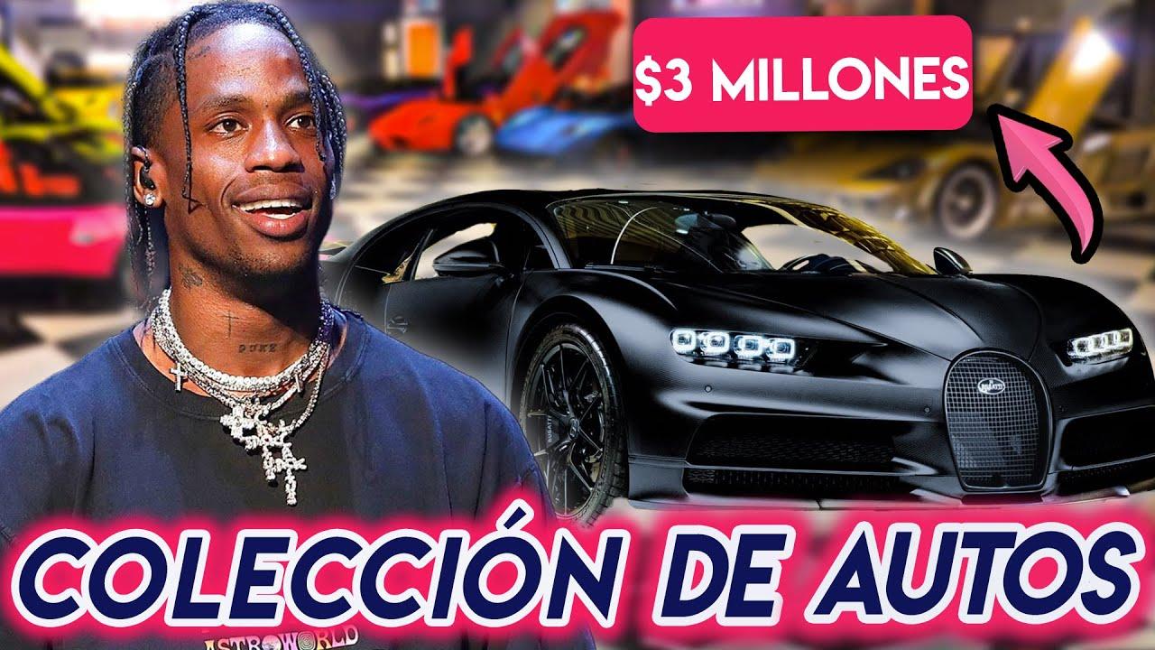 Travis Scott | Colección De Autos | Bugatti, Lamborghini, Ferrari Y Más