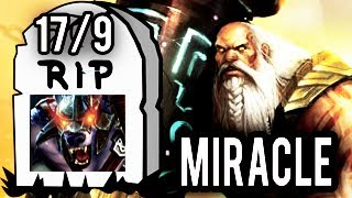 RIP URSA! Miracle- Legendary Earthshaker mid Counter Pick with Eul