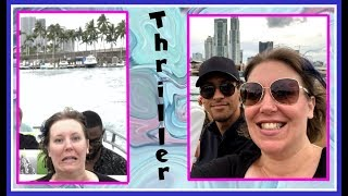 Thriller Speed Boat & Miami Hotel | Norwegian Bliss Cruise Vlog [ep1] pre-cruise