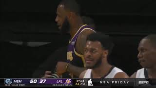 Los Angeles Lakers vs Memphis Grizzlies Full Game Highlights | February 12