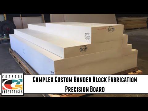 Complex Custom Bonded Block Fabrication - Precision Board