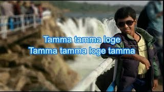 Tamma Tamma Loge Karaoke With Lyrics - Duet Version - Thaanedar