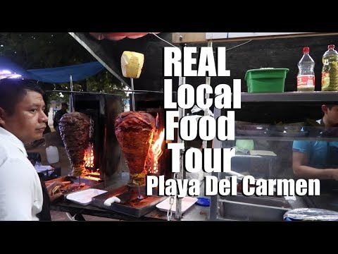 REAL Mexican Street Food Tour In Playa Del Carmen Mexico