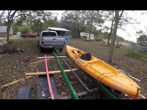 Building the DIY Kayak Trailer- Part #2