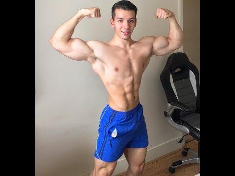 Cute Shredded Teen Bodybuilder Radoslav Raychev Workout And Posing Insane Part 2 Youtube