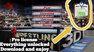 How to download wrestling revolution mod full unlock apk