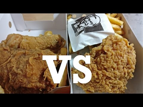 KFC vs CHURCH'S CHICKEN