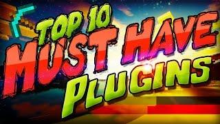 TOP 10 PLUGINS, die JEDER SERVER HABEN SOLLTE! ★ ﴾Sicherheit gegen Hacks + Nützliches für Minecraft﴿