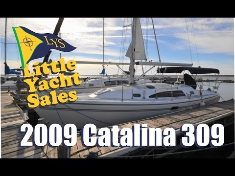SOLD!!! 2009 Catalina 309 Sailboat for sale at Little Yacht Sales