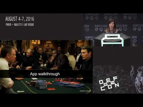 DEF CON 24 - Cheating at Poker