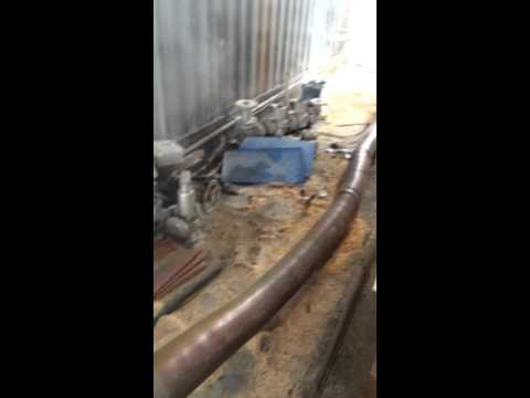 Biomass sawdust burner, connect gas / oil boiler in New Zealand (Biomass sawdust combustion furnace)