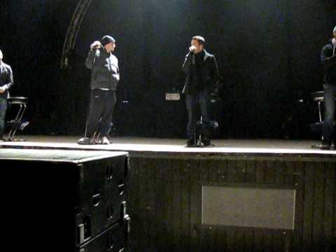 2 song on saundcheck in Kiev