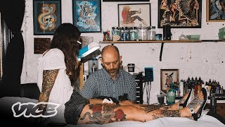 Chris Garver Has Been Drawing Tattoos by Hand for 30 Years | Tattoo Age Episode 1