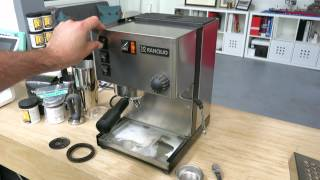 Rancilio Silvia Backflushing