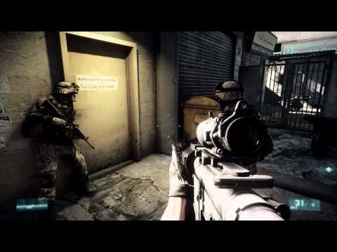 Battlefield 3: Official Fault Line Gameplay Trailer