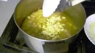 Orange Broccoli, Garlic Wine & Fresh Herb Chicken
