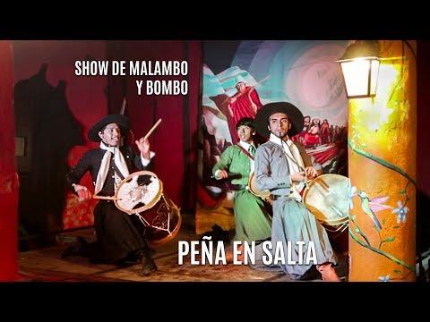 Aruma Peña en Salta - Show de malambo y folklore - RECOMENDADA