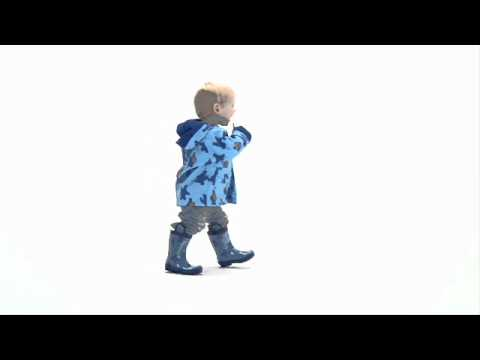 Hatley Cookie Monster Boys39 Raincoat And Rain Boots Youtube