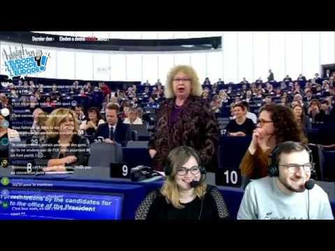 """ELECTION DU PRÉSIDENT DU PARLEMENT EUROPÉEN : """"L''Europe l'Europe l'Europe""""' du 18/01/2017"""