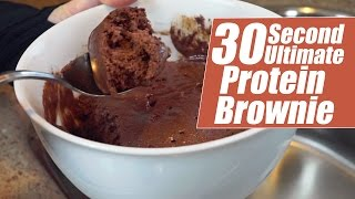 30 Second Ultimate Protein Brownie with Kara Corey
