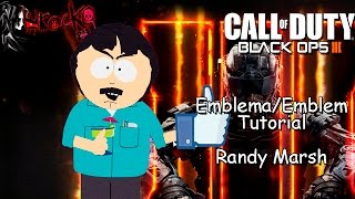 Black Ops 3 | Randy Marsh | EMBLEM/Emblema Tutorial | South Park