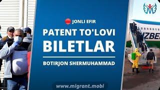 "PATENT TO""LOVI VA BILETLAR"