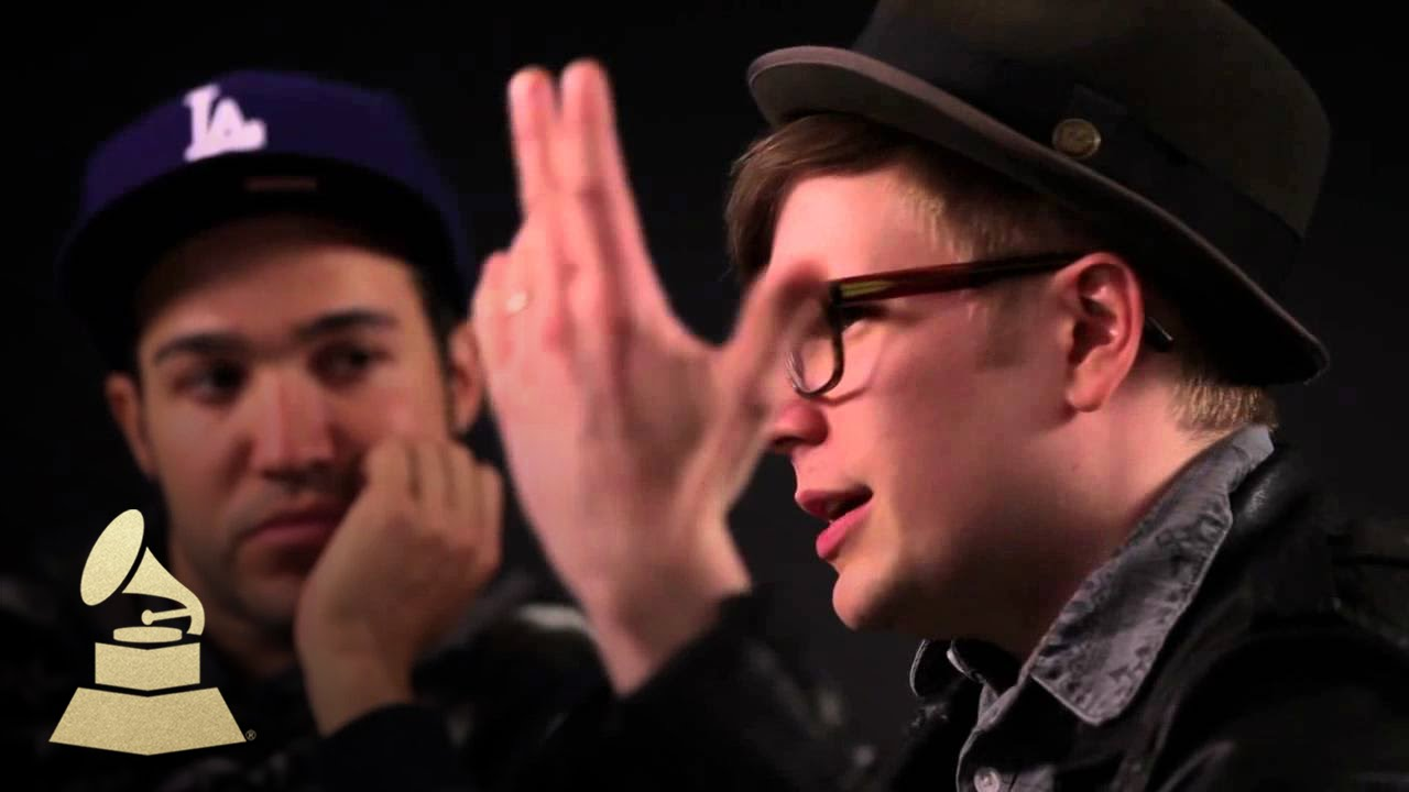 Pete Wentz & Patrick Stump of Fall Out Boy - On New Album ...