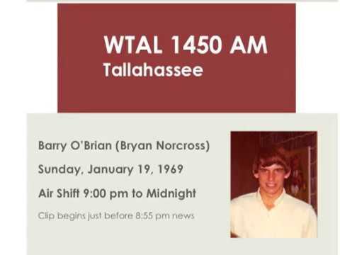 WTAL  Tallahassee 1-19-1969 Parts 1 & 2