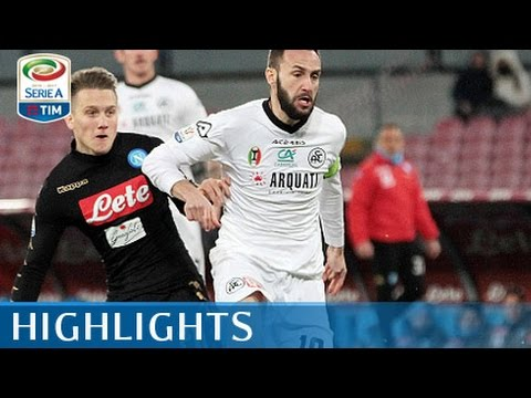 Napoli - Spezia - 3-1 - Highlights - Tim Cup 2016/17