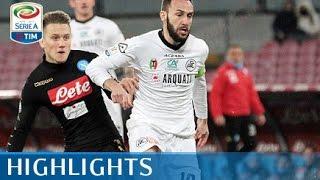 Napoli - Spezia - 3-1 - Highlights - Tim Cup 2016/17