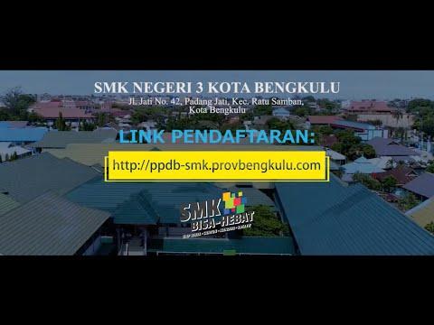 Video Promosi Sekolah PPDB SMKN 3 Kota Bengkulu