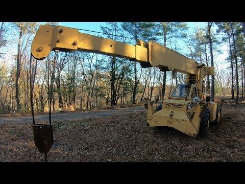 Working with a Pettibone crane