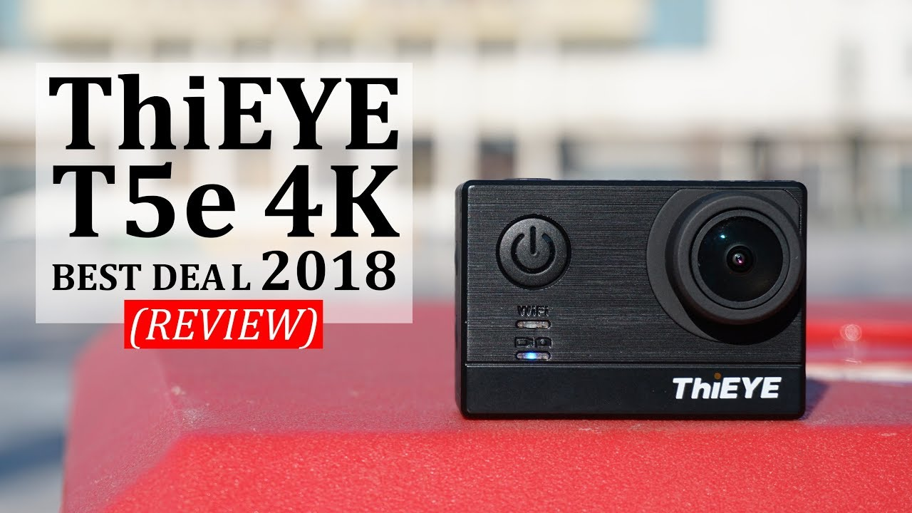 thieye t5e review best cheap 4k action camera 2018. Black Bedroom Furniture Sets. Home Design Ideas