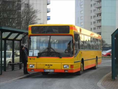 [Sound] Bus MAN EL 202 (WES-RH 435) der Fa Gerhard Hülser GmbH, Voerde (Niederrhein)
