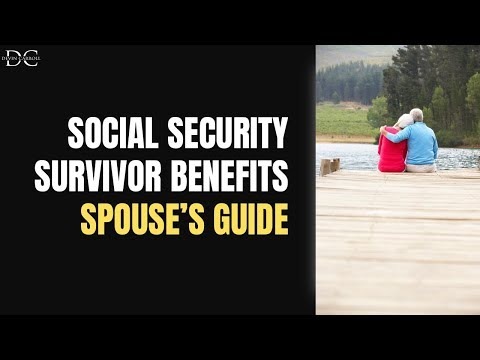Spouse's Guide To Social Security Survivor Benefits