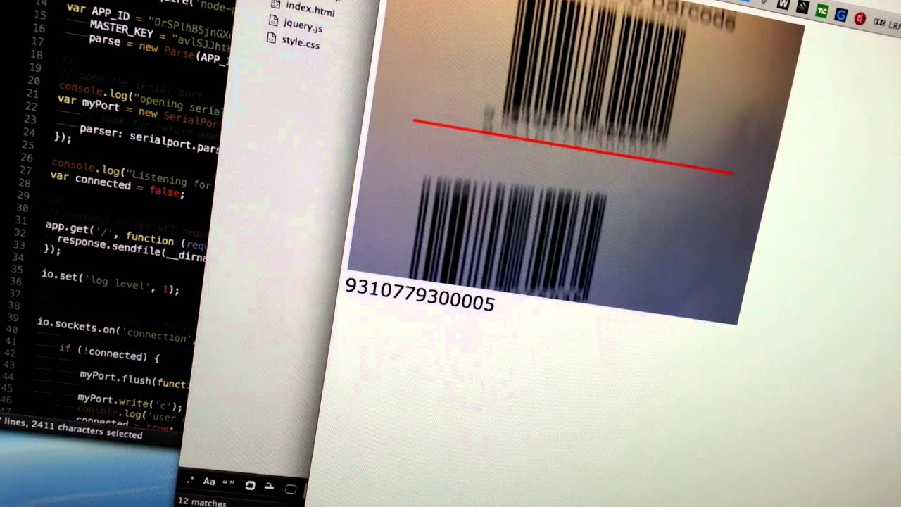 JavaScript Barcode Scanner | Web on Devices